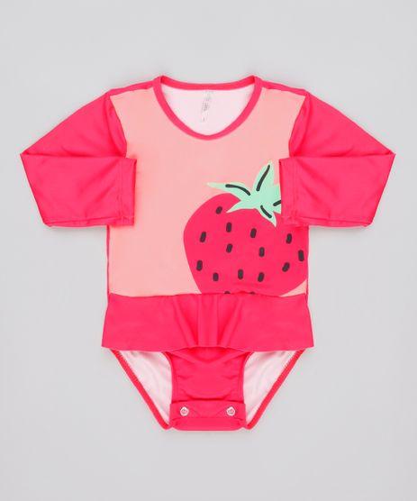 Maio-Body-Infantil-Morango-Manga-Longa-com-Protecao-UV50--Rosa-Escuro-9740197-Rosa_Escuro_1