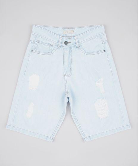 Bermuda-Jeans-Infantil-Destroyed-Azul-Claro-9761844-Azul_Claro_1
