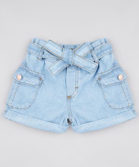 Short-Jeans-Infantil-Clochard-com-Faixa-para-Amarrar-Azul-Claro-9856819-Azul_Claro_1