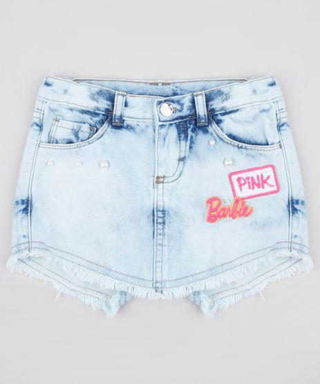 Short-Saia-Jeans-Infantil-Barbie--Azul-Claro-9794719-Azul_Claro_1