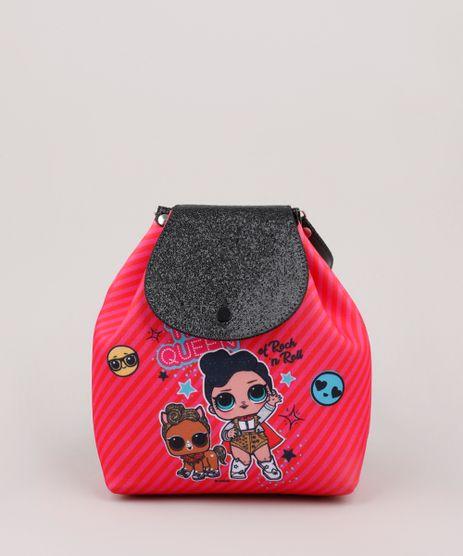 Mochila-Infantil-LOL-Surprise-Estampada-Rosa-Escuro-9866318-Rosa_Escuro_1