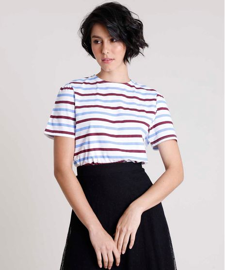T-Shirt-Feminina-Mindset-Listrada-Manga-Curta-Decote-Redondo-Branca-9901900-Branco_1