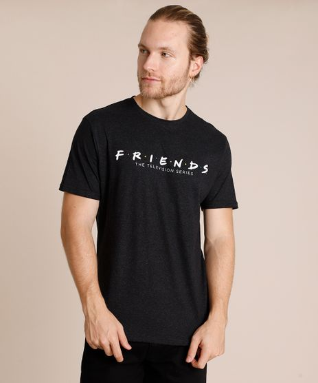 Camiseta-Masculina-Friends-Manga-Curta-Gola-Careca-Preta-9839337-Preto_1