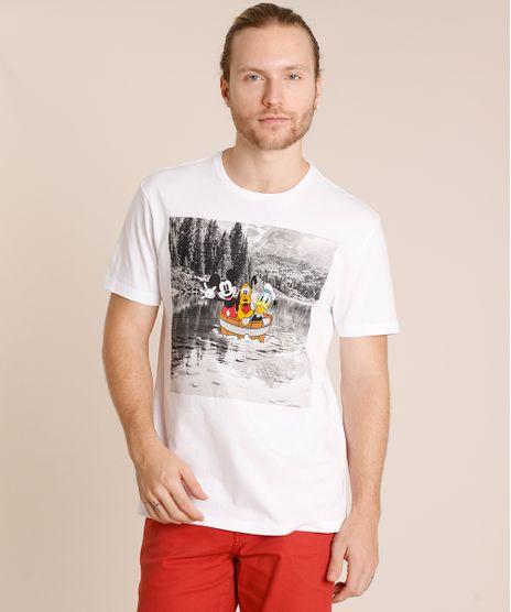 Camiseta-Masculina-Turma-do-Mickey-Manga-Curta-Gola-Careca-Branca-9727697-Branco_1