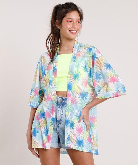 Kimono-Feminino-Carnaval-Estampado-de-Folhagem-Branco-9788876-Branco_1
