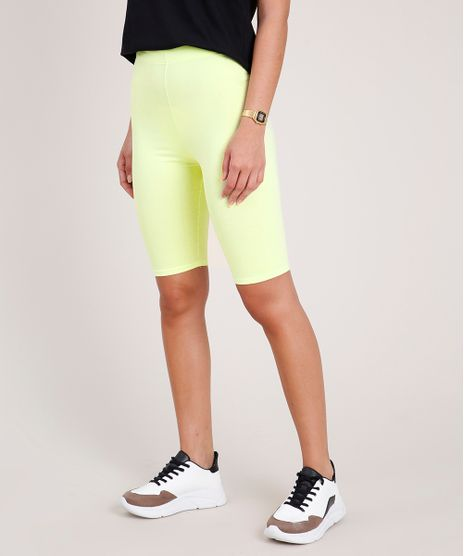 Bermuda-Feminina-Basica-Ciclista--Amarela-Neon-9700946-Amarelo_Neon_1