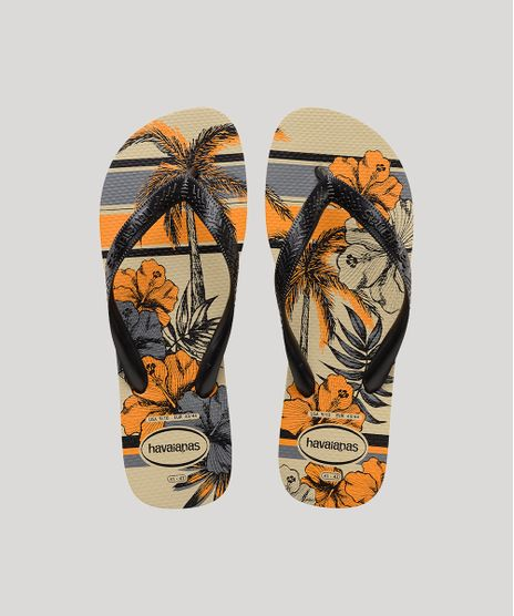 Chinelo-Havaianas-Masculino-Aloha-Estampado-Floral-Bege-9839488-Bege_1