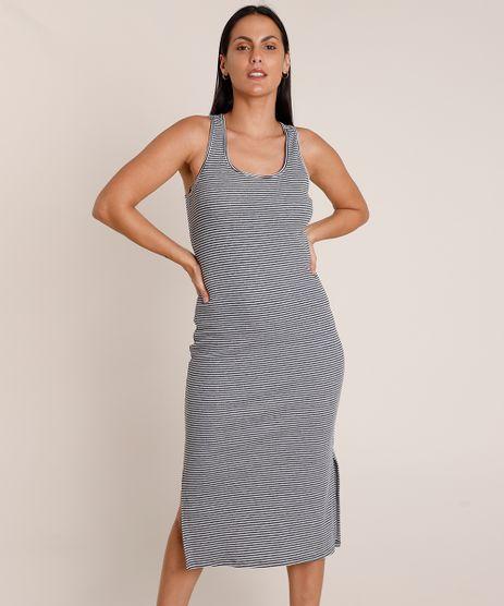 Vestido-Feminino-Midi-Listrado-Canelado-Sem-Manga-Decote-Nadador-Branco-9908881-Branco_1