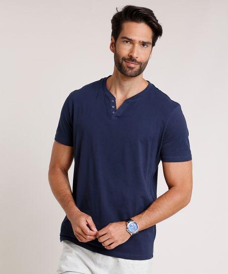 Camiseta-Masculina-Basica-Manga-Curta-Gola-Portuguesa-Azul-Marinho-9717069-Azul_Marinho_1