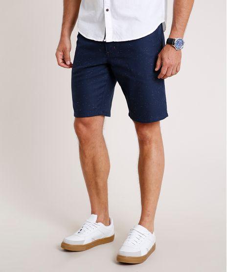 Bermuda-Masculina-Slim-Botone-Alfaiatada-Azul-Marinho-9766931-Azul_Marinho_1