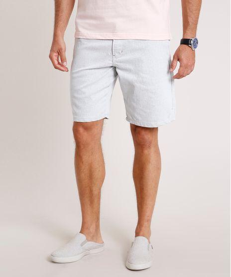 Bermuda-Masculina-Slim--Alfaiatada-Cinza-Mescla-Claro-9766932-Cinza_Mescla_Claro_1