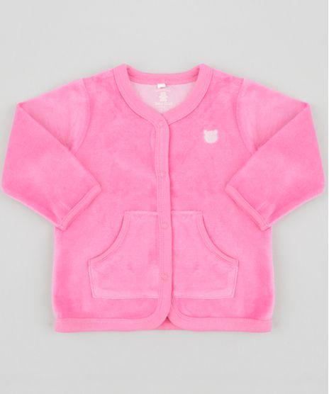 Cardigan-em-Plush-de-Algodao---Sustentavel-Pink-8498165-Pink_1