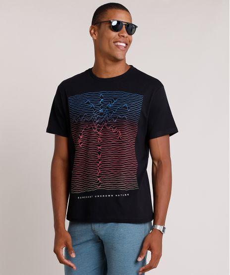 Camiseta-Masculina-Coqueiro--Unknown-Nature--Manga-Curta-Gola-Careca-Preta-9722447-Preto_1