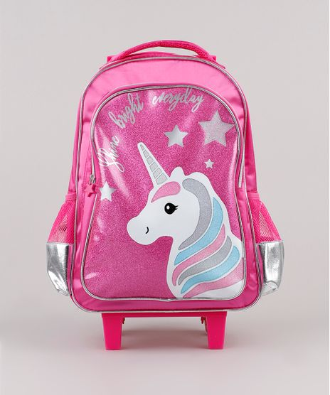 Mochila-Escolar-Infantil-Unicornio-com-Rodinhas-Pink-9594302-Pink_1