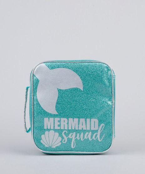 Lancheira-Termica-Escolar-Infantil--Mermaid-Squad--com-Brilho-Verde-Claro-9594228-Verde_Claro_1