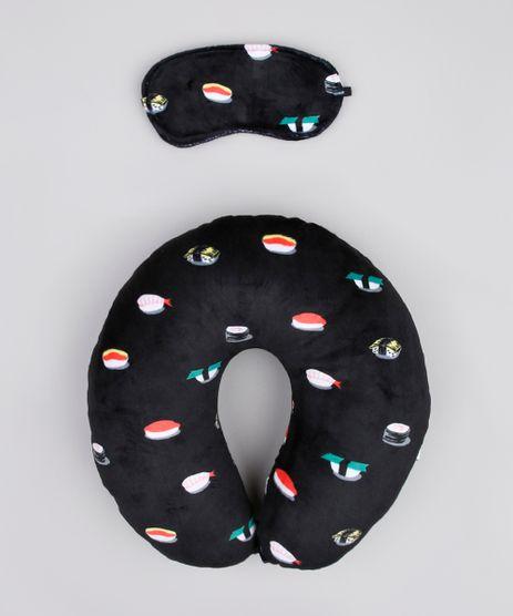 Kit-de-Apoio-de-Pescoco-Estampado-de-Sushi---Tapa-Olho-Preto-9873564-Preto_1