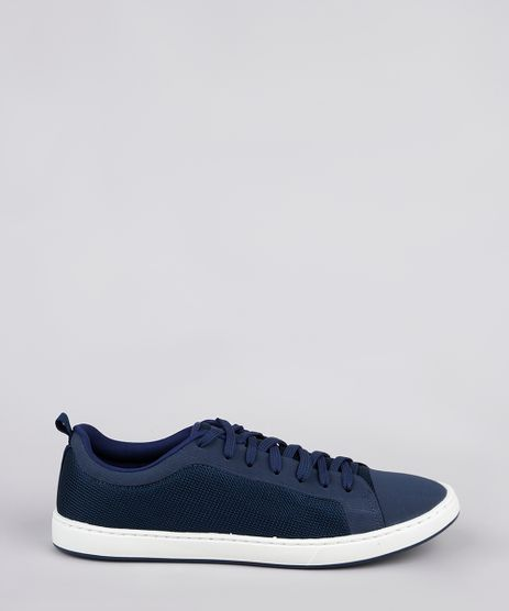 Tenis-Masculino-Oneself-com-Recortes-Azul-Escuro-9842511-Azul_Escuro_1