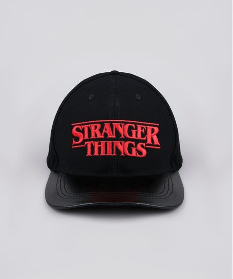 Bone-Unissex-Aba-Curva-Stranger-Things-com-Bordado-Preto-9769584-Preto_1