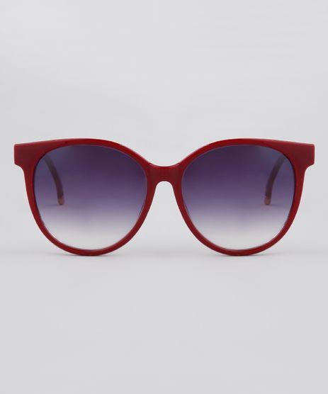 Oculos-de-Sol-Redondo-Feminino-Yessica-Vermelho-9911838-Vermelho_1