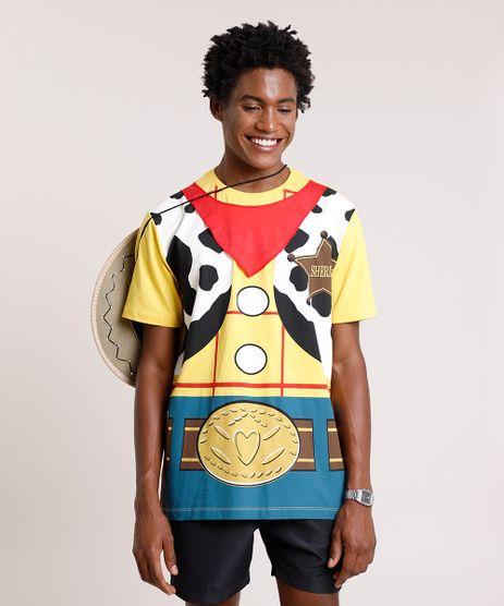 Camiseta-Masculina-Carnaval-Woody-Toy-Story-Manga-Curta-Gola-Careca-Amarela-9411356-Amarelo_1