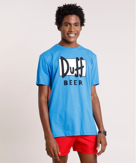Camiseta-Masculina-Carnaval-Duff-Beer-Os-Simpsons-com-Capa-Manga-Curta-Gola-Careca-Azul-9757267-Azul_1