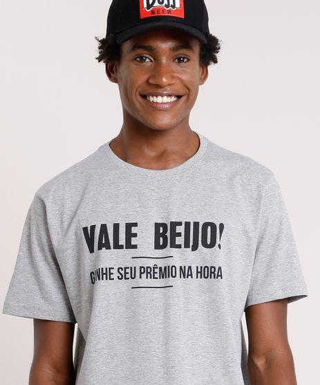 Camiseta-Masculina-Carnaval--Vale-Beijo---Manga-Curta-Gola-Careca-Cinza-Mescla-9880519-Cinza_Mescla_1