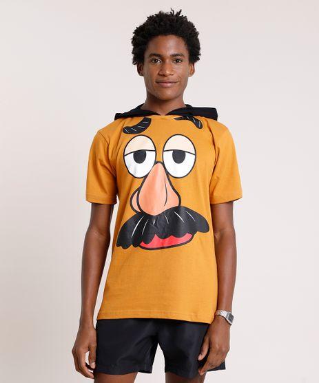 Camiseta-Masculina-Carnaval-Senhor-Cabeca-de-Batata-Toy-Story-com-Capuz-Manga-Curta-Caramelo-9824368-Caramelo_1