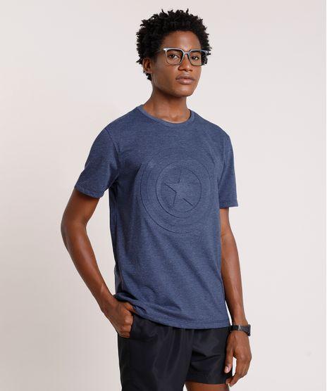 Camiseta-Masculina-Capitao-America-Manga-Curta-Gola-Careca-Azul-Marinho-9853056-Azul_Marinho_1