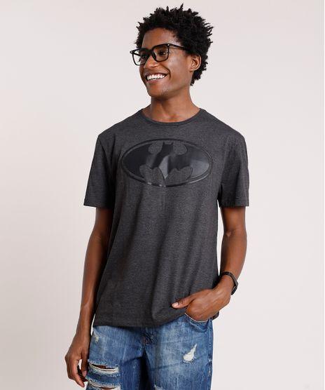 Camiseta-Masculina-Batman-Manga-Curta-Gola-Careca-Cinza-Mescla-Escuro-9719812-Cinza_Mescla_Escuro_1