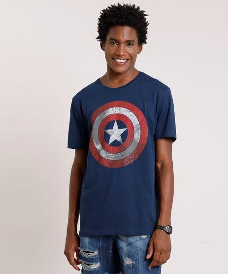 Camiseta-Masculina-Capitao-America-Manga-Curta-Gola-Careca-Azul-Marinho-9738699-Azul_Marinho_1