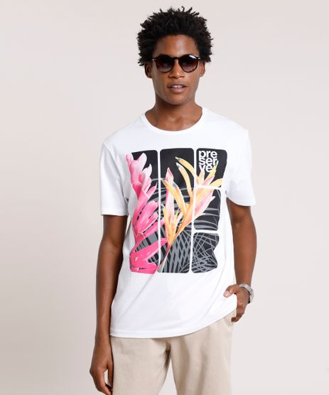 Camiseta-Masculina--Preserve--Manga-Curta-Gola-Careca-Branca-9726319-Branco_1