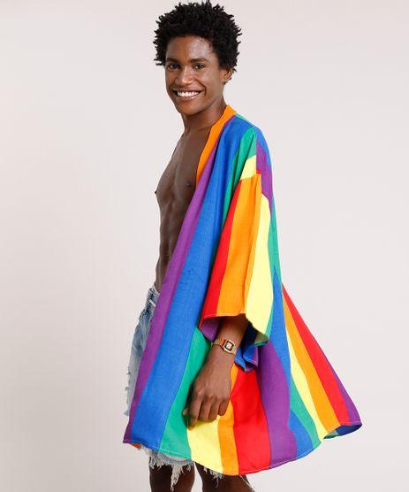 Kimono-Masculino-Pride-Listrado-Arco-Iris-Multicor-9729639-Multicor_1