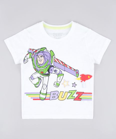 Camiseta-Infantil-com-Estampa-Interativa-Buzz-Lightyear-Toy-Story-Manga-Curta-Off-White-9837267-Off_White_1