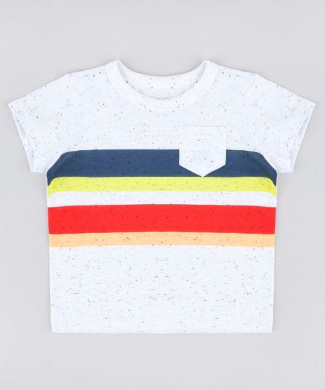 Camiseta-Infantil-com-Listras-e-Bolso-Manga-Curta-Off-White-9837172-Off_White_1