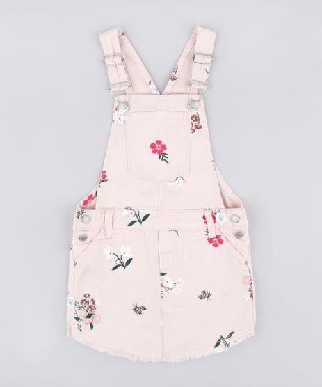 Jardineira-Short-Saia-de-Sarja-Infantil-Estampada-Floral-Rose-9845713-Rose_1