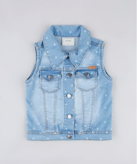 Colete-Jeans-Infantil-Estampado-de-Estrelas-Azul-Claro-9828205-Azul_Claro_1