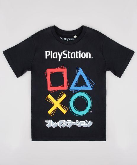 Camiseta-Infantil-Playstation-Manga-Curta-Preta-9849477-Preto_1