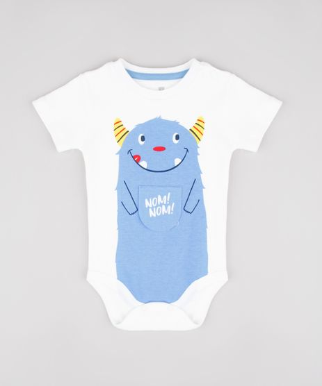 Body-Infantil-com-Estampa-Interativa-de-Monstrinho-Manga-Curta--Off-White-9862251-Off_White_1