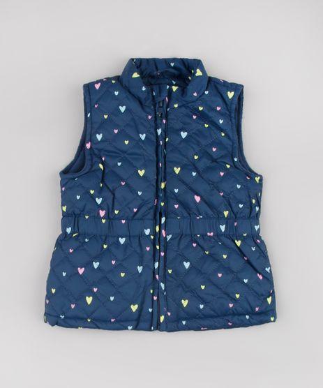 Colete-Infantil-Puffer-Matelasse-Estampado-de-Coracoes-Azul-Marinho-9784731-Azul_Marinho_1