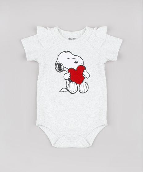 Body-Infantil-Snoopy-Canelado-com-Babados-Manga-Curta-Cinza-Mescla-Claro-9723436-Cinza_Mescla_Claro_1
