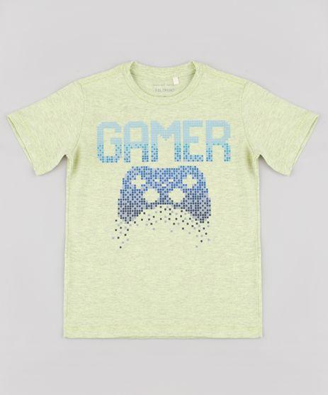 Camiseta-Infantil--Gamer--Manga-Curta-Verde-Neon-9838015-Verde_Neon_1