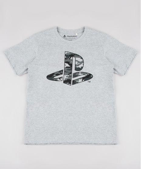 Camiseta-Infantil-Playstation-Camuflada-Manga-Curta-Cinza-Mescla-9838009-Cinza_Mescla_1