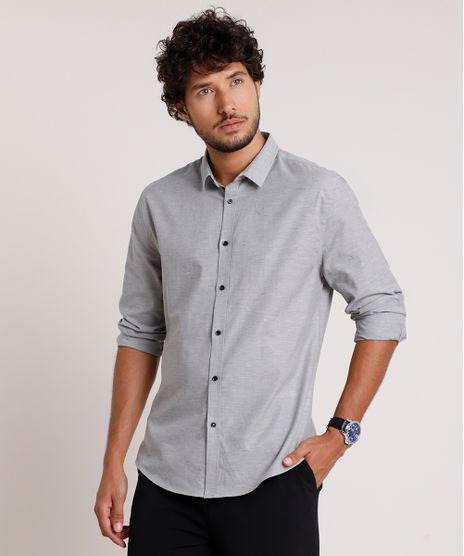 Camisa-Masculina-Slim-Manga-Longa-Cinza-Mescla-9657387-Cinza_Mescla_1