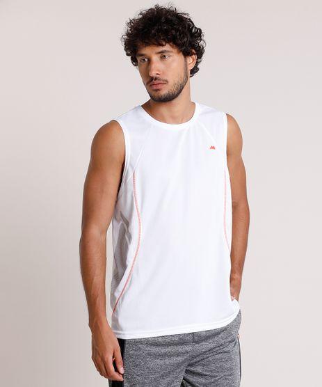Regata-Masculina-Esportiva-Ace-com-Recortes-Gola-Careca-Branca-9844415-Branco_1