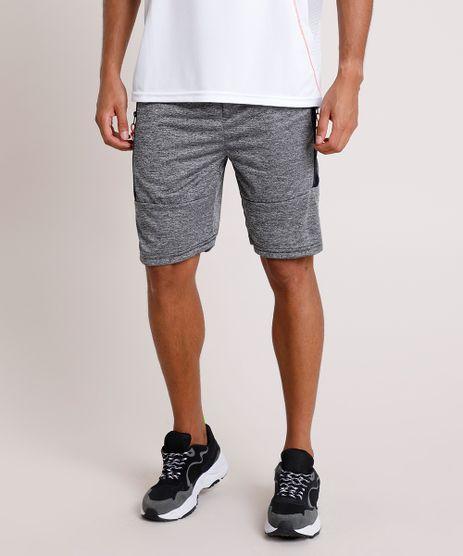 Bermuda-Masculina-Esportiva-Ace-com-Bolsos-e-Recortes-Cinza-Mescla-9844519-Cinza_Mescla_1