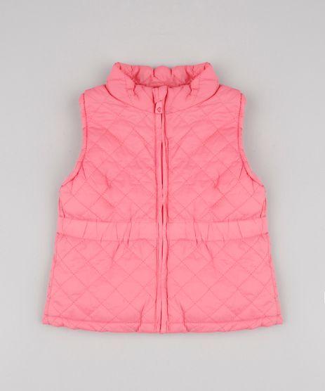 Colete-Infantil-Puffer-Matelasse-Rosa-9783175-Rosa_1