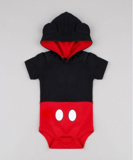 Body-Infantil-Carnaval-Mickey-com-Capuz-Manga-Curta-Preto-9858161-Preto_1