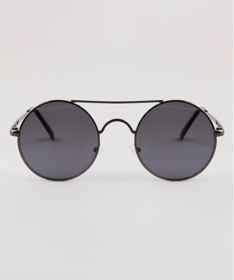 Oculos-de-Sol-Redondo-Unissex-Ace-Grafite-9910194-Grafite_1