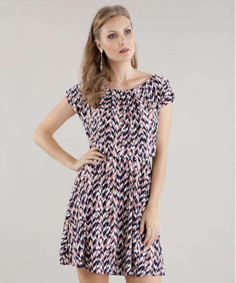 3f39af4718 Vestido-Estampado-Geometrico-Rosa-Claro-8585500-Rosa Claro 1