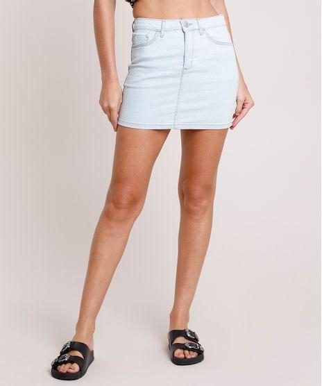 Saia-Jeans-Feminina-Curta-com-Bolsos-Azul-Claro-9865913-Azul_Claro_1